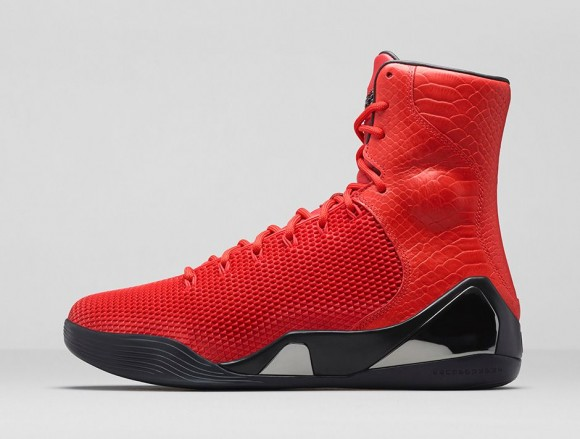 Nike Kobe 9 KRM EXT 'Challenge Red' - Release Information-4