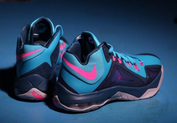 Nike LeBron Ambassador 7 'Blue Lagoon' 2