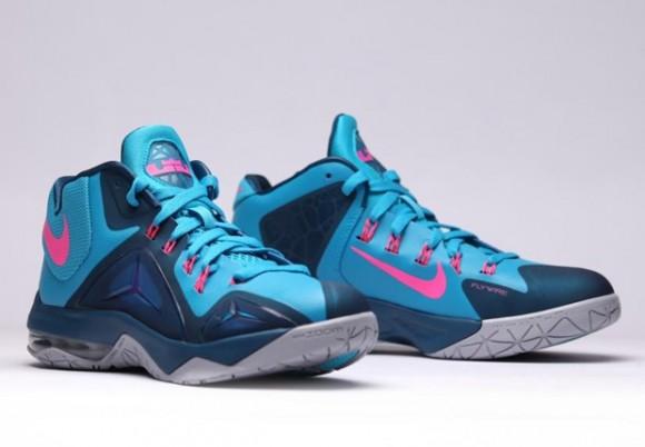Nike LeBron Ambassador 7 'Blue Lagoon' 5