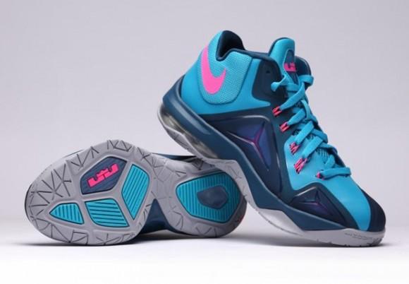 Nike LeBron Ambassador 7 'Blue Lagoon' 7