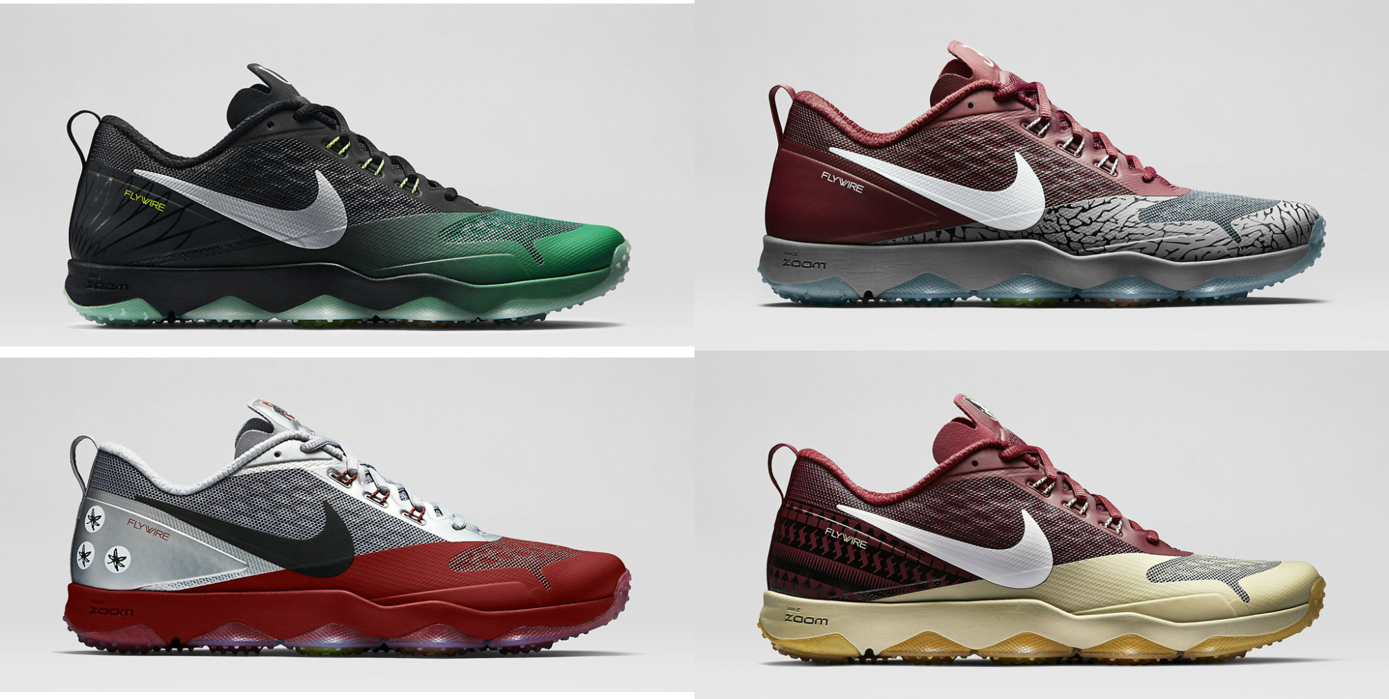 Nike Zoom Hypercross 'College Football' Pack