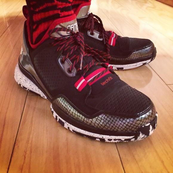 adidas D Lillard 1 'Away' – Release Info + On-Feet Look