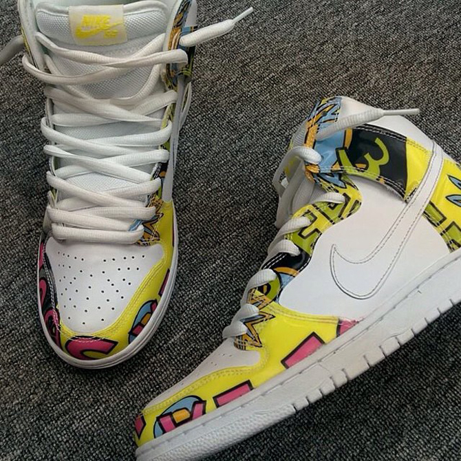 size 40 65f12 901c2 Nike SB Dunk High 'De La Soul' - WearTesters