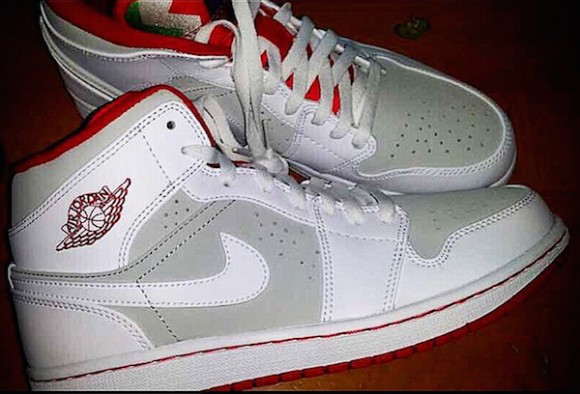 Air Jordan 1 Retro Mid 'Hare' – First Look