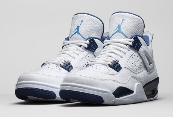 Air Jordan 4 Retro 'Columbia Legend Blue' - Official Look + Release Info 1