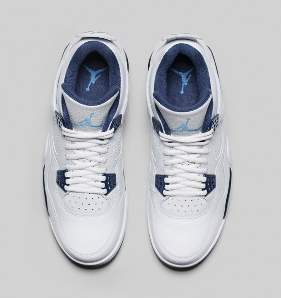 Air Jordan 4 Retro 'Columbia Legend Blue' - Official Look + Release Info 3