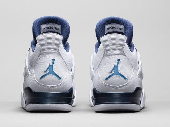 Air Jordan 4 Retro 'Columbia Legend Blue' - Official Look + Release Info 6