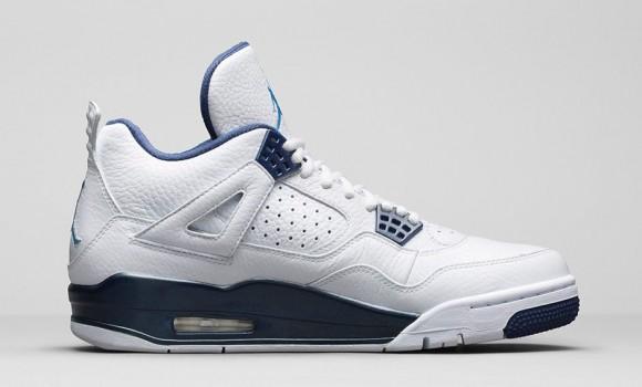 Air Jordan 4 Retro 'Columbia Legend Blue' - Official Look + Release Info 7