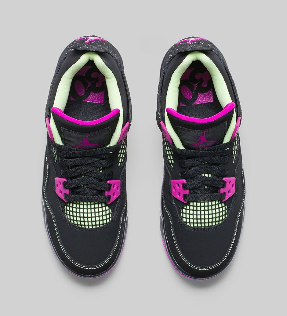 'Fuchsia' 4 Air WearTesters Available Now Jordan Retro Girls SUVpzM