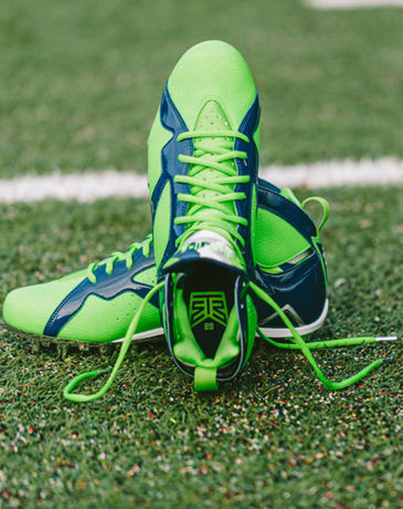 Earl Thomas Air Jordan VII Cleat 7
