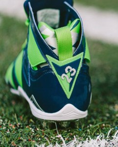 Earl Thomas Air Jordan VII Cleat 8