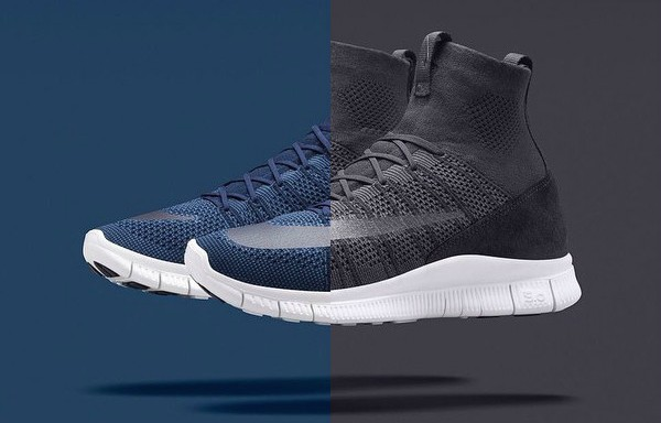 Nike Free Mercurial Superfly 'Dark Obsidian' & 'Dark Grey' – 2 New Colorways