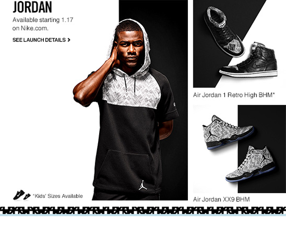 Nike & Jordan Brand Black History Month Collection  Official Release Date 1