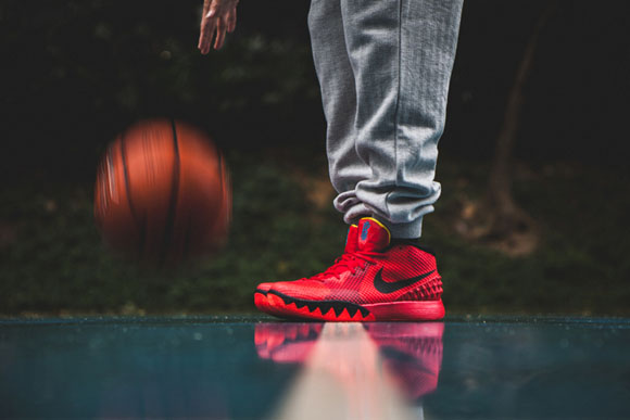 Nike Kyrie 1 'Deceptive Red' - Detailed Look 1