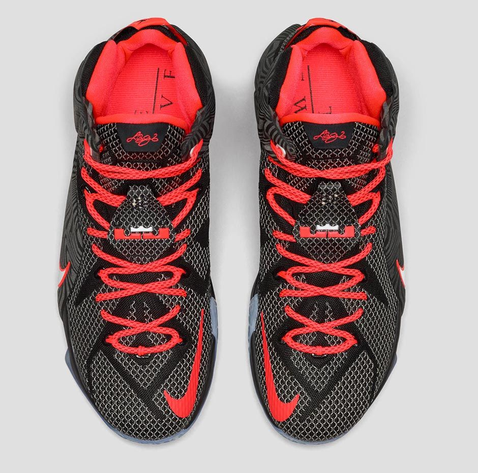 timeless design 5bc15 6ee2f Nike LeBron 12 'Court Vision' - Official Look + Release ...