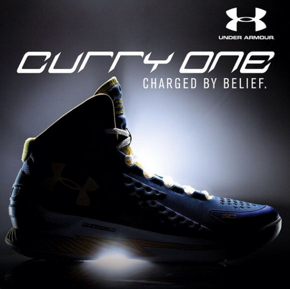 Under Armour Curry 1 Unveiling Tomorrow