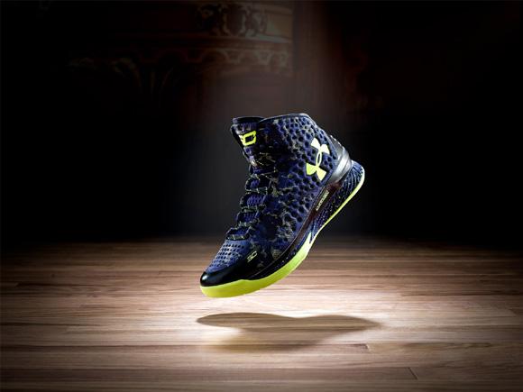 Under Armour Curry One 'Dark Matter' for NBA All-Star 2