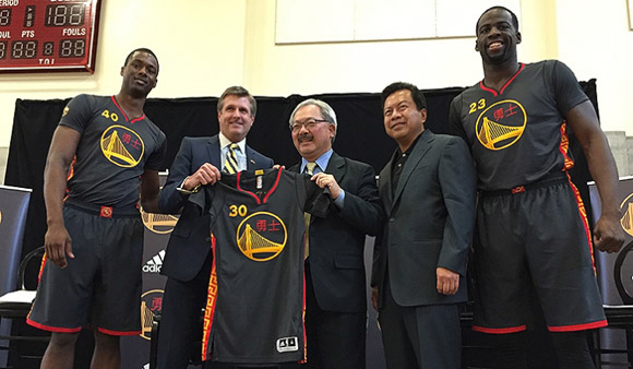 Warriors Unveil First-Ever Chinese New Year Uniforms 1