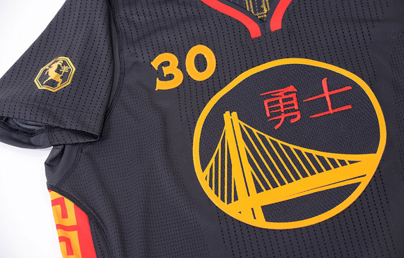 Warriors Unveil First-Ever Chinese New Year Uniforms 4