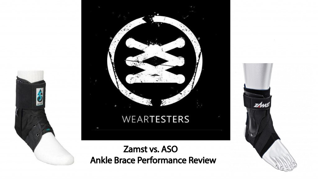 Zamst vs. ASO Ankle brace performance review.1