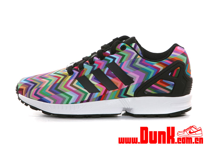 on sale c8054 ce8f1 adidas ZX Flux 'Multicolor Chevron' - WearTesters