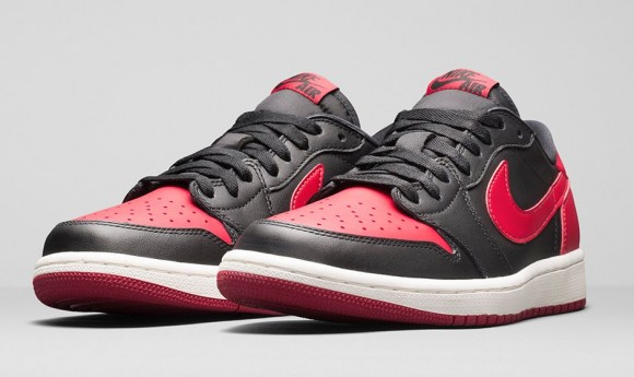 Air Jordan 1 Retro Low OG 'Black: Red' - Official Look + Release Info 1