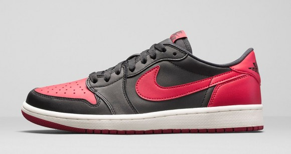 Air Jordan 1 Retro Low OG 'Black: Red' - Official Look + Release Info 2