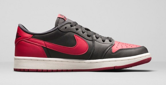 Air Jordan 1 Retro Low OG 'Black: Red' - Official Look + Release Info 3