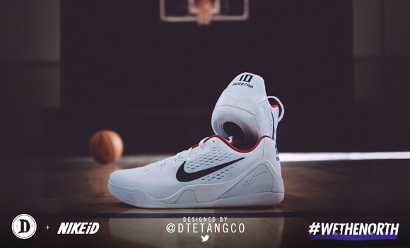 DeMar DeRozan Will Wear Fan Designed Nike Kobe 9 EM NIKEiD