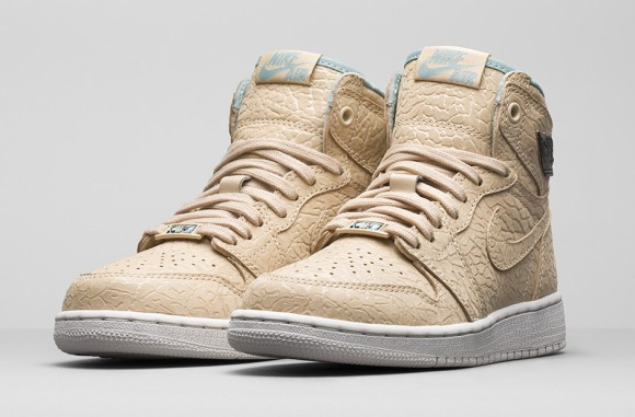Girls Air Jordan 1 Retro 'Sand Dune'
