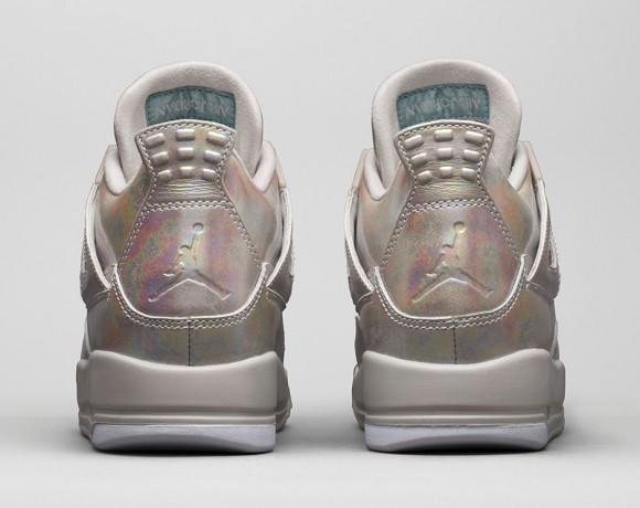 Girls Air Jordan 4 Retro 'Pearl'4