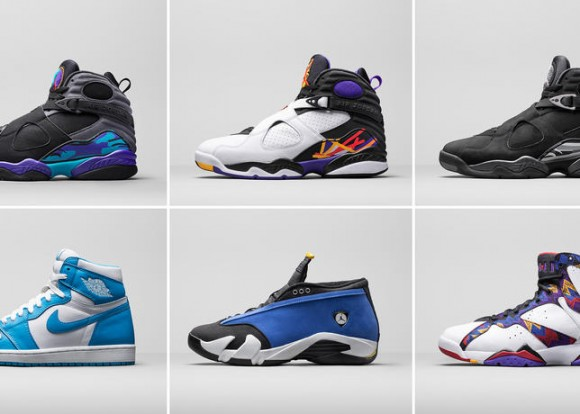 Jordan Brand Previews Holiday 2015 Retro Lineup 1