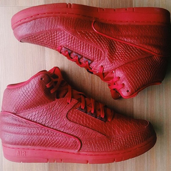 Nike Air Python 'All-Red'