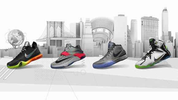 Nike Basketball Unveils 2015 All-Star Series 1