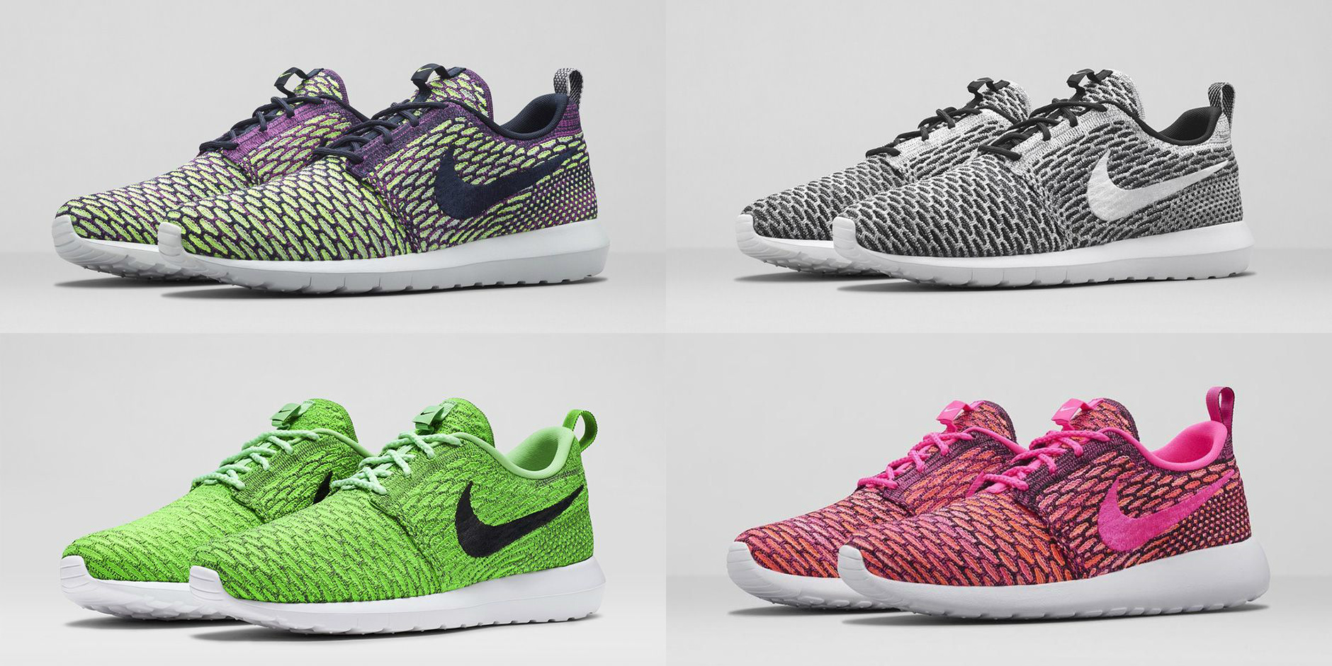 Nike Flyknit Roshe Run – Multiple Colorways Available Now