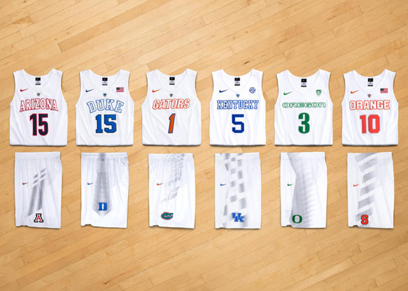 Nike Hooks Up Eight NCAA Basketball Teams With New Uniforms for March Madness 1