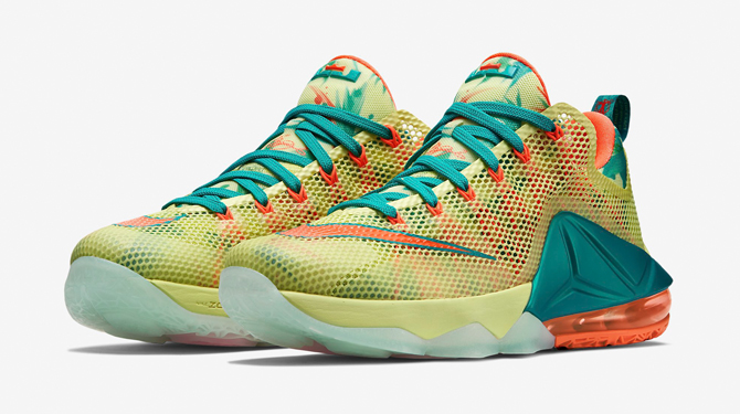 Nike LeBron 12 Low 'LeBronold Palmer' – Detailed Look + Release Info 6