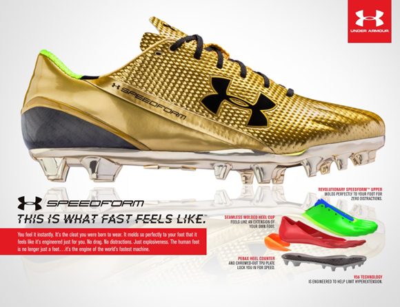 Under Armour Prepares to Lauch SpeedForm MC Football Cleat 4