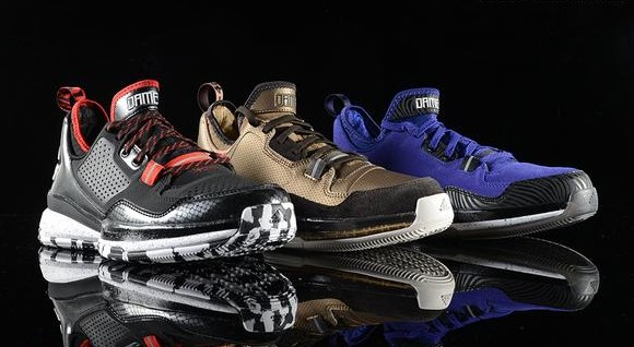 adidas D Lillard 1 – Three Colorways Available Now