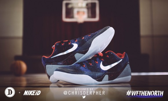 demar derozan wore chrisderpher nike kobe 9 2