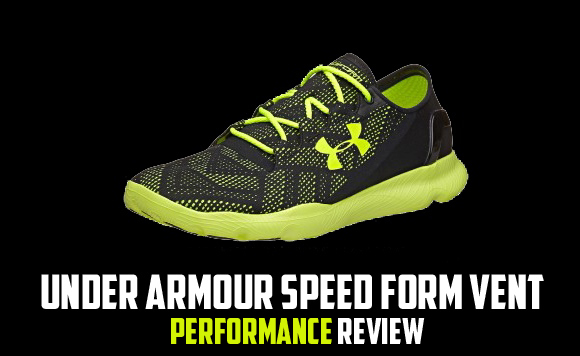 Under Armour Speed Form Vent Performance Review Main