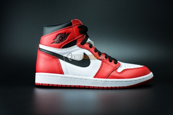 Air Jordan 1 Retro 'Chicago' Remastered – Another Look