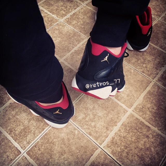 promo code a0d9f eba75 Air Jordan 13 Retro Low 'Playoff' - Detailed Look + On-Foot ...