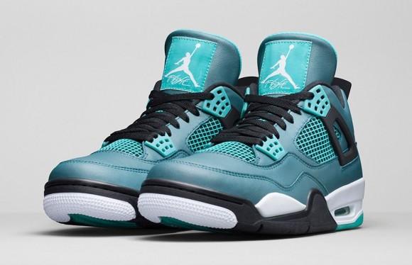 Air Jordan 4 Retro 'Teal' – Official Look + Release Info 8