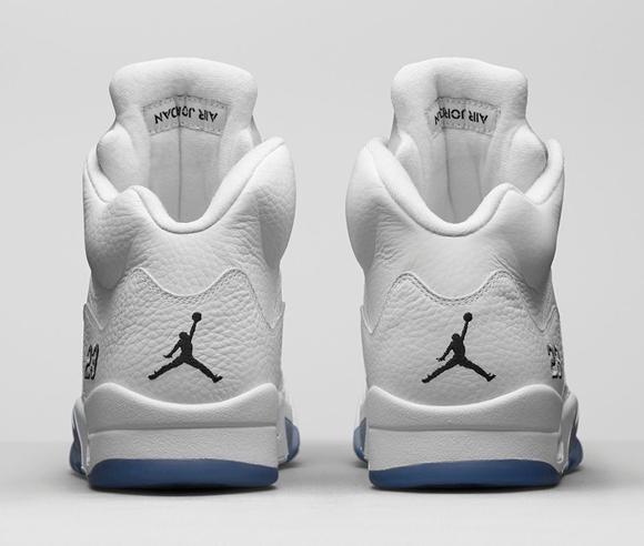 Air Jordan 5 Retro White Metallic Silver - Official Look + Release Info 5