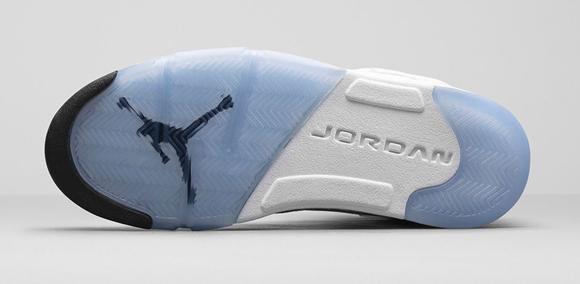 Air Jordan 5 Retro White Metallic Silver - Official Look + Release Info 8
