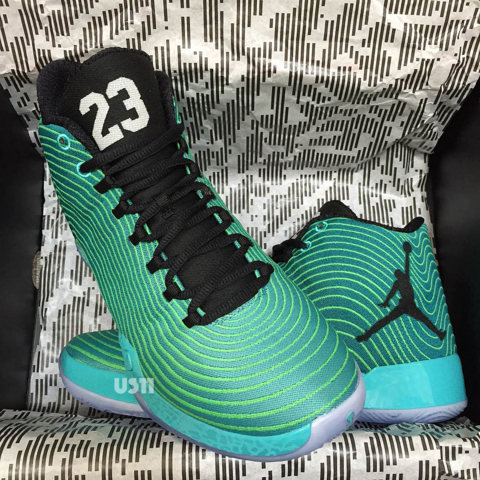 Air Jordan XX9 'Green Spark'