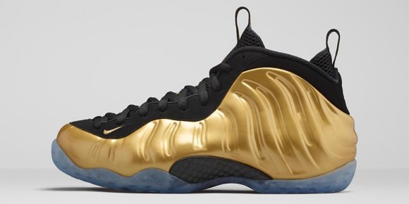 Foamposite One Metallic Gold 1