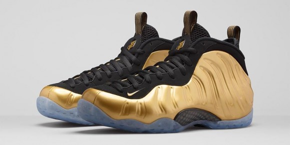 Foamposite One Metallic Gold
