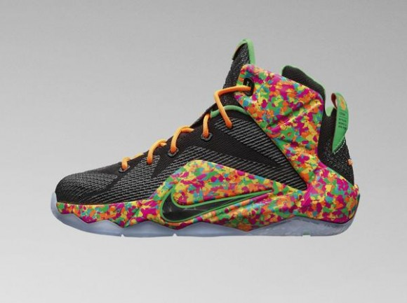 Kid's Nike LeBron 12 'Fruity Pebbles'